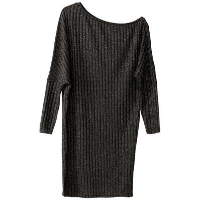 Metallic Off Shoulder Jumper Dress Metallic Off Shoulder Jumper Dress VERO MODA