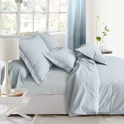 housse de couette gris en solde la redoute. Black Bedroom Furniture Sets. Home Design Ideas