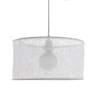 Lampadario in garza di lino Ø35 x A20 cm, Holorime AM.PM.