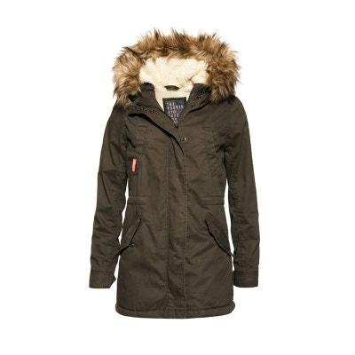 Manteau femme militaire noir