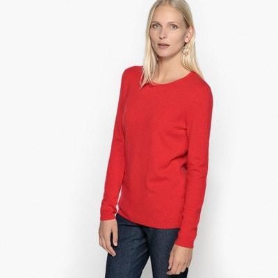 Sweter z okrągłym wycięciem szyi z czystego kaszmiru ANNE WEYBURN