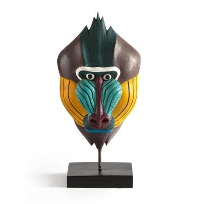 Nyala Decorative Monkey Mask Nyala Decorative Monkey Mask La Redoute Interieurs