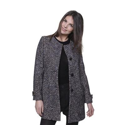 7b0e3a4f67d0 Laine Manteau Solde Tweed La Redoute Femme En 5qxw7ZaqA