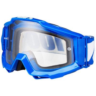 The Accuri - Masque vélo - bleu / visiere claire 100%
