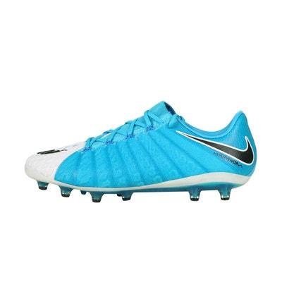 buy online 537b9 e2c93 Chaussures football Nike Hypervenom Phantom III AG-PRO Bleu Blanc NIKE
