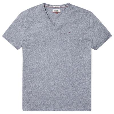 T-shirt scollo a V maniche corte T-shirt scollo a V maniche corte TOMMY JEANS