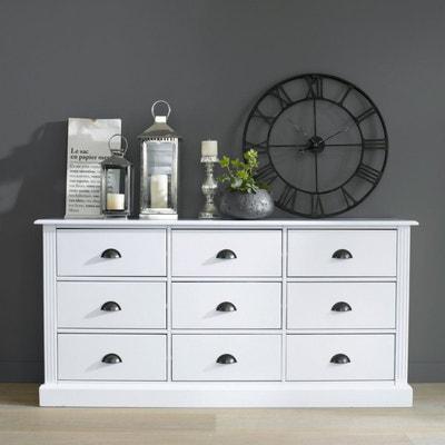 meuble de mercerie pin massif authentic style la redoute interieurs