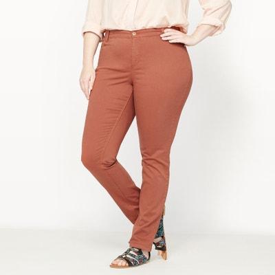"Slim Fit Cigarette Trousers, Length 30.5"" Slim Fit Cigarette Trousers, Length 30.5"" CASTALUNA PLUS SIZE"