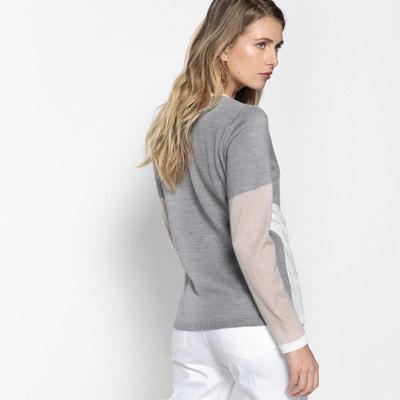 Jersey con cuello de pico ANNE WEYBURN