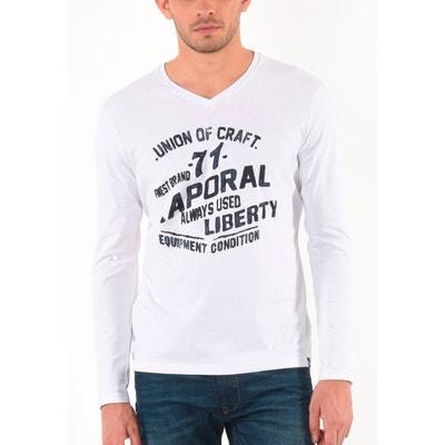 V-Neck Long Sleeved T-Shirt KAPORAL 5