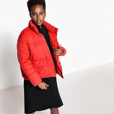 Manteau bordeaux femme cache cache