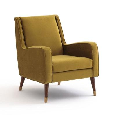fauteuil y fauteuil y la redoute interieurs - Fauteuil Scandinave Moutarde