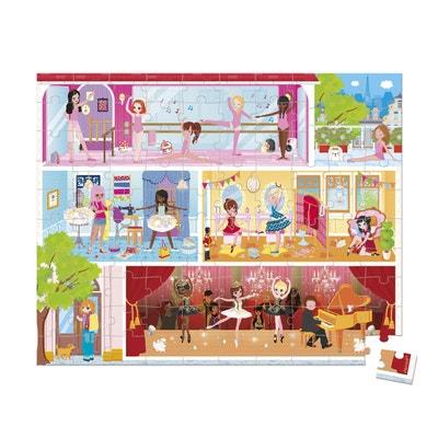 Valise Puzzle Danse Academy 100 pcs - JURJ02777 Valise Puzzle Danse Academy 100 pcs - JURJ02777 JANOD