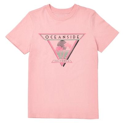 T-shirt scollo rotondo in cotone 10-16 anni T-shirt scollo rotondo in cotone 10-16 anni La Redoute Collections