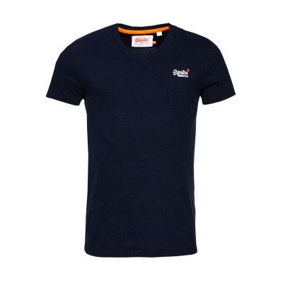 T-shirt brodé Orange Label Vintage SUPERDRY