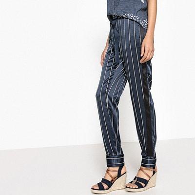 Pantalon pyjama à rayures La Redoute Collections