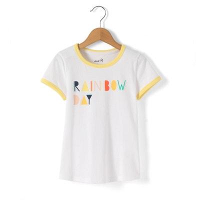 T-shirt motivo ''Rainbow Day'' 3-12 anni La Redoute Collections