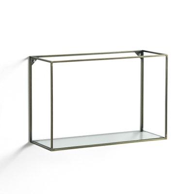 Oshota Horizontal Metal/Glass Shelving Unit AM.PM.