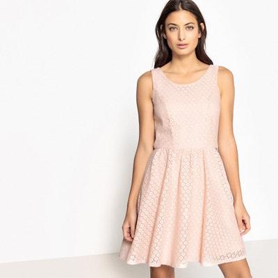 Платье кружевное с вырезом сзади без рукавов Платье кружевное с вырезом сзади без рукавов ONLY