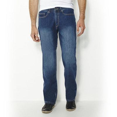 Jean stretch standard taille élastiquée L1 Jean stretch standard taille  élastiquée L1 CASTALUNA FOR MEN 466104d0538a