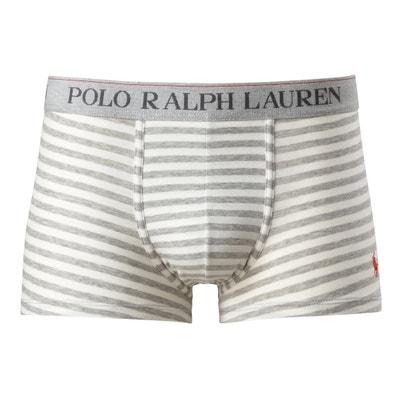 Boxers às riscas, logótipo bordado POLO RALPH LAUREN
