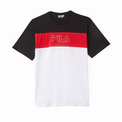 T-Shirt, runder Ausschnitt, Aufdruck vorne T-Shirt, runder Ausschnitt, Aufdruck vorne FILA
