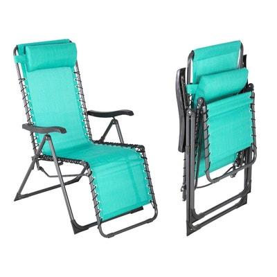 fauteuil de jardin relax silos emeraude fauteuil de jardin relax silos emeraude hesperide - Relax De Jardin