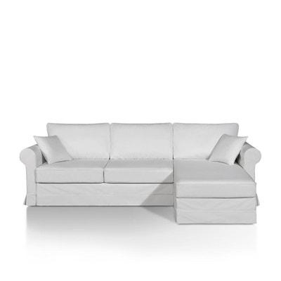 Canapé d'angle lit, simili, bultex, Yukata La Redoute Interieurs
