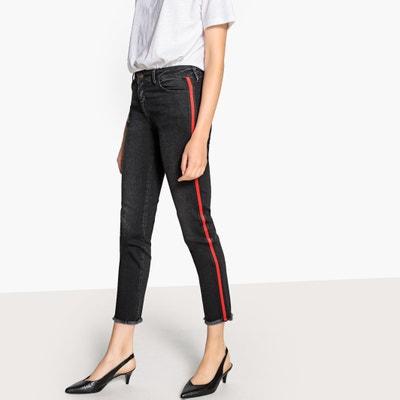 Jeans slim 7/8, fascia a contrasto laterale Jeans slim 7/8, fascia a contrasto laterale La Redoute Collections