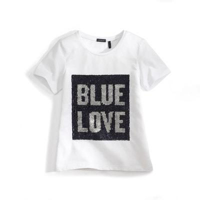 T-shirt ''BLUE LOVE'' 3-14 ans IKKS JUNIOR