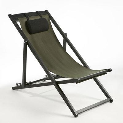 Chaise longue transat la redoute - Chaise chilienne ...