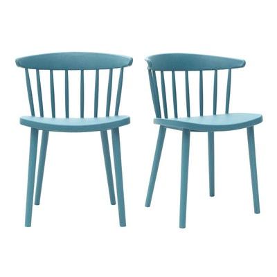 chaise bleu canard la redoute. Black Bedroom Furniture Sets. Home Design Ideas
