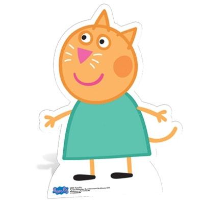 Figurine en carton Candie Chat Peppa Pig WALLTASTIC