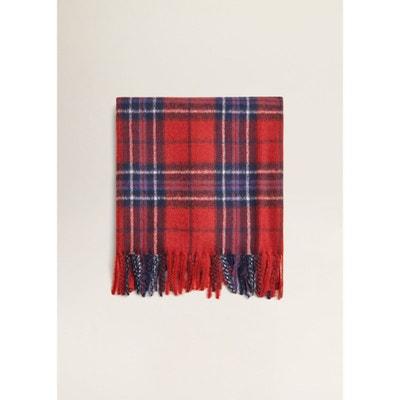Écharpe à carreaux écossais Écharpe à carreaux écossais MANGO ad5e88c2476f