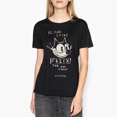 Felix The Cat T-Shirt Felix The Cat T-Shirt MAISON SCOTCH