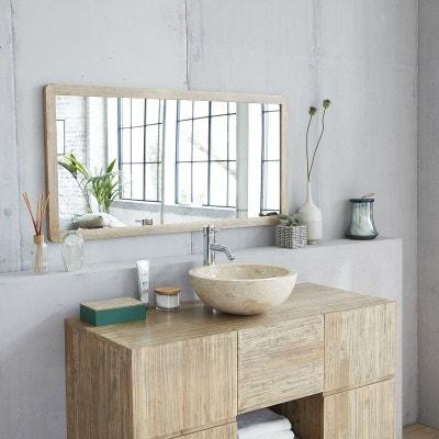 Miroir encadrement bois | La Redoute