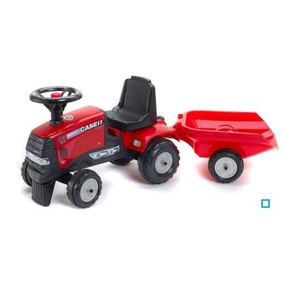 Tracteur Case IH CVX 120 + Remorque (sans pédales) Tracteur Case IH CVX  120. FALK fdbee3d9ace3