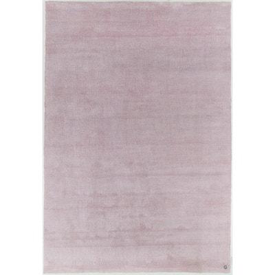 tapis tuft main powder shaggy tom tailor - Tapis Rose Poudre