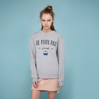 """""""Je Peux Pas J'ai Ecole"""" Sweatshirt """"Je Peux Pas J'ai Ecole"""" Sweatshirt RAD"""