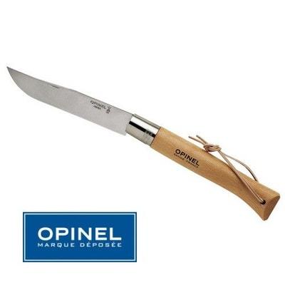 Couteau Opinel Le Geant N° 13 Inox - Manche Hetre 28 cm - Lacet Cuir Couteau Opinel Le Geant N° 13 Inox - Manche Hetre 28 cm - Lacet Cuir OPINEL
