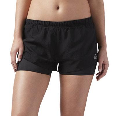 Shorts sportivo 2 in 1 REEBOK