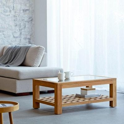 Table basse en bois de teck 100x60 Kwad Table basse en bois de teck 100x60 Kwad TIKAMOON
