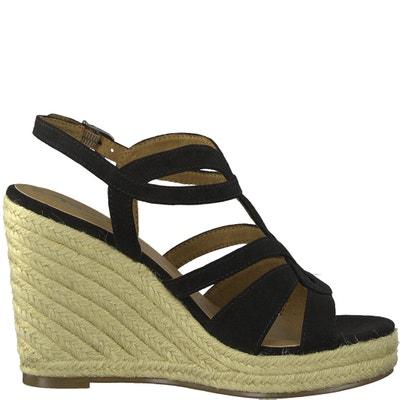 Cynara Wedge Sandals TAMARIS