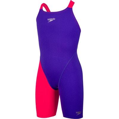 35f9917681a51 Fastskin Endurance+ Openback - Maillot de bain Enfant - rouge violet  Fastskin Endurance+ Openback -. SPEEDO