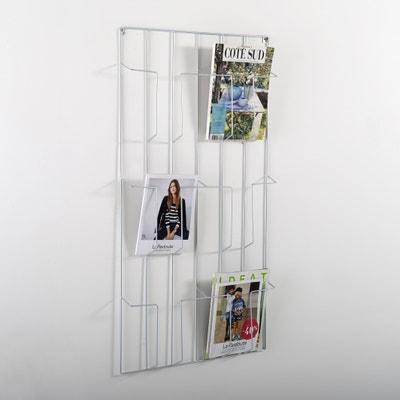 Magazinehouder om aan de muur te hangen, Niouz Magazinehouder om aan de muur te hangen, Niouz La Redoute Interieurs