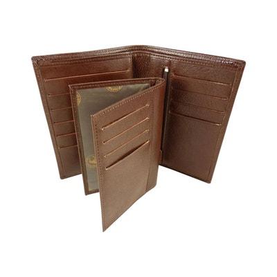 Portefeuille + Porte Carte amovible en Cuir de Vachette Portefeuille + Porte Carte amovible en Cuir de Vachette ELEPHANT D'OR
