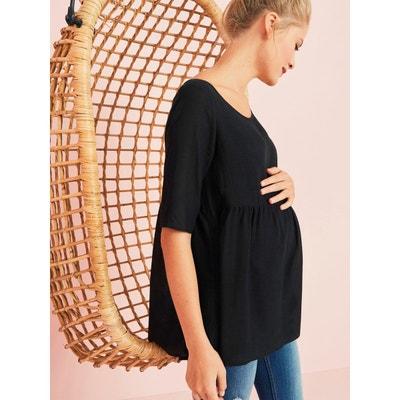 Blouse fluide de grossesse VERTBAUDET