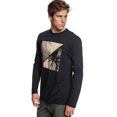 T-shirt met ronde hals en lange mouwen T-shirt met ronde hals en lange mouwen QUIKSILVER