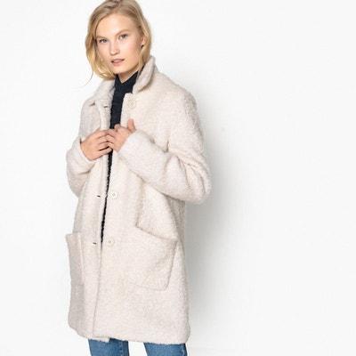 Manteau mi long en mélange laine Manteau mi long en mélange laine LA REDOUTE  COLLECTIONS 3b40407eb5b4