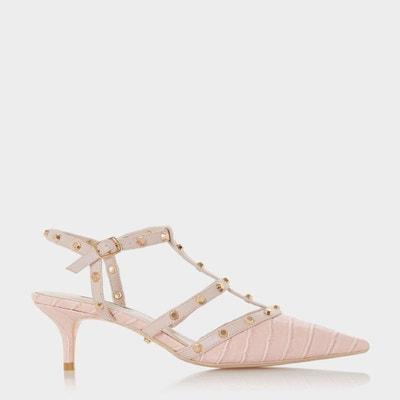 d6175debb8bb1 Chaussures à talons bobines et bride cloutée - CASTERLY DUNE LONDON